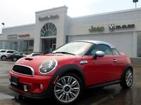 2012 MINI Cooper S Coupe Xenons Htd Frnt Seats Pwr Rear Spoiler