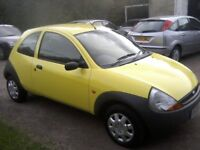 FORD KA 1-3. 2006. ONLY 48,000 MILES, FULL SERVICE HISTORY, 2 PREVIOUS LADY OWNERS, VERY ATTRACTIVE