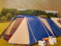 Gelert utah 4+4 tent