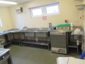 complete catering kitchen