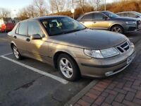 SAAB 9-5 ARC TID,,STAMPED SERVICE HISTORY..1 YEAR FRESH MOT FULL LEATHER INTERIOR..FULLY LOADED £795