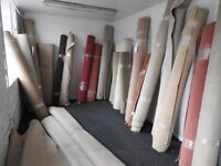Job lot carpet rolls
