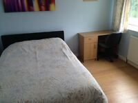 Double room for rent in family home.