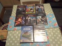 The Good dinosaur and kung fu panda three brand new dvds & 7 others