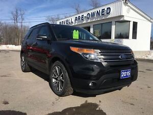 2015 Ford Explorer XLT 4WD  *Sport Appearance group  Moonroof  L