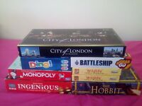 Job lot of board games and puzzles