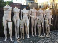 £80 Ono Mannequin selection various free delivery locally