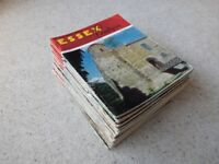27 Issues of Essex Countryside Magazine dated between October 1966 and December 1969