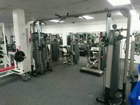 Pulse Cable crossover gym machine