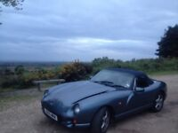 TVR Chimaera 4.0 Metallic Blue Grey Low Mileage LESS THEN 55K miles!!! Rare Collectors Sought After