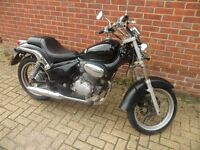 2002 Gilera Cougar 125cc motorbike in good condition and full 12 months MOT