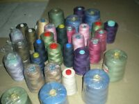 TWO LARGE BAGS OF THREAD