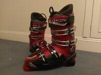 Salomon Falcon CS Pro Race Ski Boots. Mens, size 9.