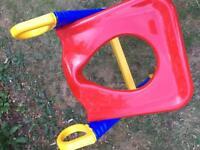 Child's toilet training seat