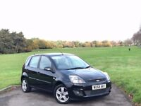 2008/58 FORD FIESTA ZETEC CLIMATE 1.2 PETROL, MANUAL, 5-DR **LOW 53,000 MILES WITH FULL SERVICE HIST
