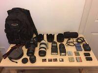 Canon 5D Mark II Complete Professional Bundle