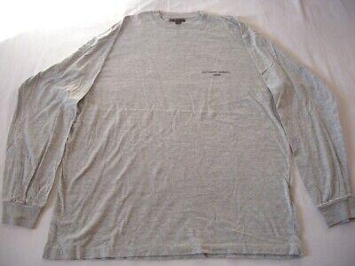 Katharine Hamnett size Large light-grey long sleeve cotton t-shirt Pre-owned