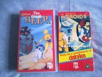 STAR WARS 'DROIDS' VIDEOS (VHS - RARE!)