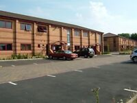 Beautiful modern air conditioned office to let with excellent motorway links