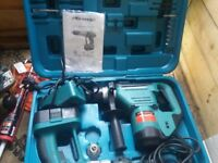 hammer drill and cordless