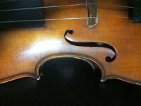 Antique Violin hand made and 1920s case