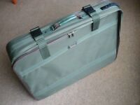 Large green suitcase 'Equator'. Hardly used.