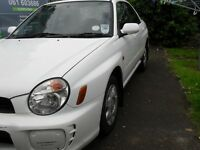 2001 Subaru Impreza, sold with full test. may px for van