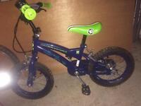 Boys Ben 10 Alien Force Bike