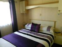 Private static caravan HOLIDAY hire to rent Haven Rockley Park Poole Dorset