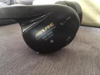 2 x Alpine SHS-N202 Headphones and infrared transmitter can be used in the home or car great sound !