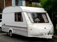 2-berth touring Caravan and Accessories