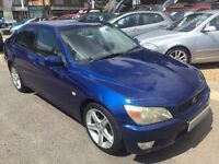 1999/V LEXUS IS200 2.0 SPORT,BLUE,MANUAL,GOOD SPEC,LOOKS AND DRIVES WELL,READY TO GO