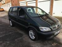 Vauxhall zafira 1.6 with 12 months mot
