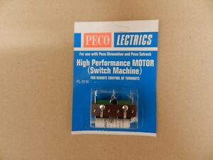 H0: PECO PL-10W High Performance Motor, Doppelspulen-Weichenantrieb - <span itemprop='availableAtOrFrom'>Fritzens, Österreich</span> - H0: PECO PL-10W High Performance Motor, Doppelspulen-Weichenantrieb - Fritzens, Österreich