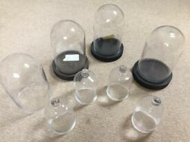 Glass Bell jar, domes, wedding decorations