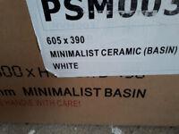 Minimalist Ceramic Wash Basin