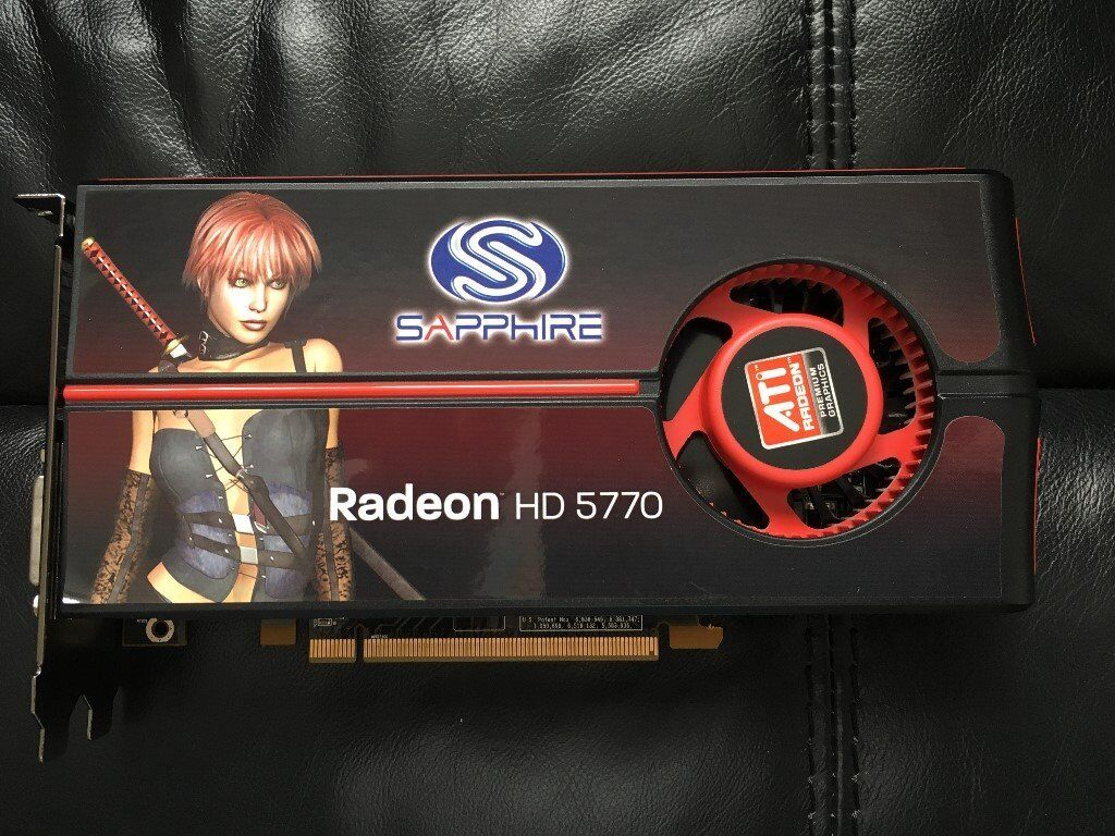 ATi Radeon HD 5770 Graphics Card