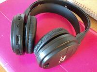 4 PAIRS ARKON WIRELESS 863 mhz FM WIRELESS HEADPHONES ONLY NO TRANSMITTER