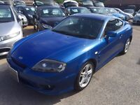 2006/06 HYUNDAI COUPE 2.0 SE 3 DOOR BLUE, HIGH SPEC WITH SERVICE HISTORY,LOOKS AND DRIVES WELL