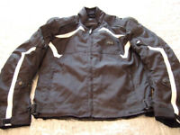 JTS Motorcycle Jacket. Size 48 inch