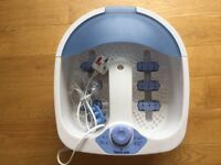 Foot spa - with heat and magnetic rollers