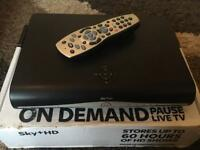 Sky+ HD Box - mint condition with Remote