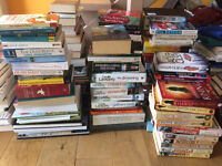 Books Books Books 50p a pb book or 1 pound hardback or suit car booter