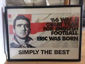 Eric Cantona Large Framed Print