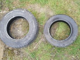 Used Lorry & Car Tyres Free To Collector