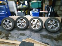 Ford S Max winter tyres and alloy wheels