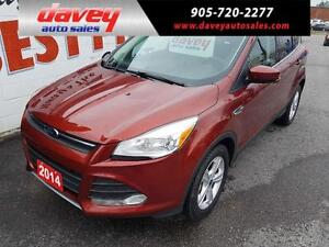 2014 Ford Escape SE 4X4, HEATED SEATS, BACK UP CAMERA