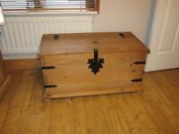 Corona style storage chest. 46cm x 92cm x 52 cm