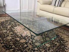 Designer Glass Coffee Table