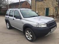 2003 LAND ROVER FREELANDER KALAHARI TD4 2.0 TURBO DIESEL 111 BHP LOW MILEAGE 100k BMW ENGINE